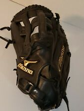 mizuno global elite gxf 10 first baseman mittblack baseball glove  preowned lht