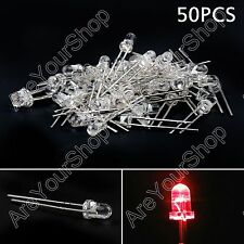 3mm 7 Colors Round Top Emitting Diode Diffused/Water Clear LED light Kit