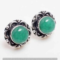 Coral stud Earring 925 Sterling Silver Plated Earring Jewelry E-FP-144