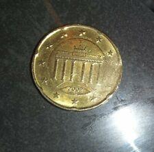 20 Euro Cent ~2002 *G * Extrem seltene Fehlprägung 💥