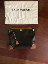 LOUIS VUITTON Berri MM Hobo Shoulder Hand Tote Bag Monogram Used Great Condition