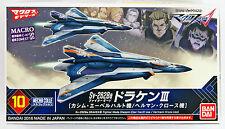 Bandai 090694 Macross Delta Sv-262Ba DRAKEN III Fighter Mode non scale kit