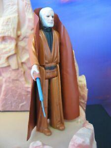 NICE COMPLETE ORIGINAL vintage Obi-Wan Kenobi Star Wars figure Kenner first 12