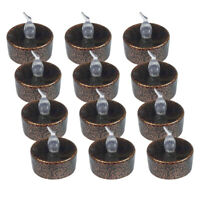 12 Pieces Flameless Votive Candle Battery Operated Flickering LED Tea Light