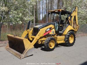 2011 Caterpillar 420E 4WD Backhoe Wheel Loader Tractor Hyd Outriggers bidadoo