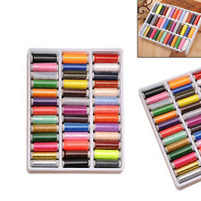 39pc/set Mixed Colors Polyester Spool Sewing Thread For Hand Machine 200 Yard