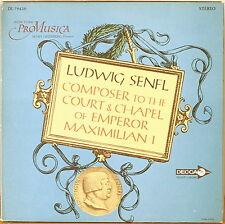 SENFL: Composer to the Court & Chapel of Maximilian I-M1964LP NY PRO MUSICA