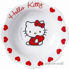 Hello Kitty Sweet Heart Müslischale Teller Müsli Schale - NEU