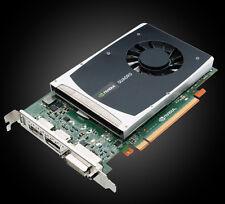Nvidia Quadro 2000 | DVI + 2x DP | 1 GB GDDR5 | 192 Prozessorkerne | 41.6 GB/s