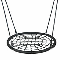 48'' Spider Web Tree Swing Net For Kids Adjustable Height Max Weight 600Lbs
