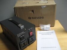 NEW SEYAS AT-500 AUTOMATIC VOLTAGE CONVERTER OPEN BOX