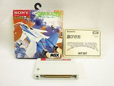 Msx Star Blazer Item ref/3360 Import Japan Video Game msx