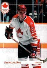 1992 Canadian Olympic Hopefuls #175 Stephane Roy
