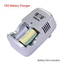 CR2 2-Slot Quick Charger For Mini25 Camera Range Finder CR2 Lithium Battery F1