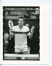 John McEnroe-Tennis Star-8x10-B&W-Still