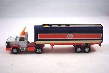 Corgi TRONICS LEYLAND SCAMMEL Truck & 2 Axle GULF Battery Road Tanker Trailer