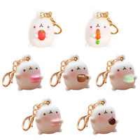 Potato Bunny Pendant Cute Rabbit Keyring Keychain Car Key Chain Decor Gift GXTEU