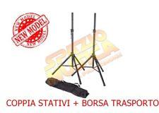 PROEL FRE180KIT COPPIA ASTE STATIVI PER CASSE + BORSA STAND SUPPORTI DIFFUSORI