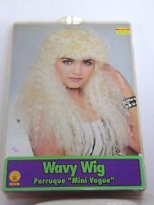 Long Blonde Wavy Hair Wig Halloween Party Costume Trick Or Treat Theater Play