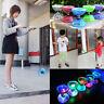 12cm Luminous Triple Bearing Diabolo Set & Sticks Kids Diabolo Toy & String