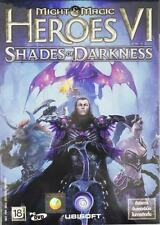 * Might and Magic Heroes VI Shades of Darkness * PC DVD GAME Brand new Sealed *