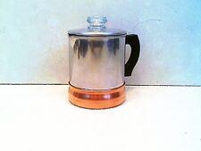 Vintage Armor Ware Copper Clad Small 1 Quart Coffee Pot (Top & Bottom)