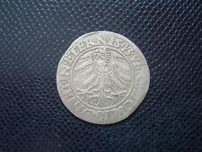 GERMANY - STATES LIEGNITZ - BRIEG / FRIEDRICH II./  SILVER GROSCHEN 56. / 1543