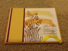 Just believe sympathy get well friend card kit of 10 made w/ Stampin' Up!