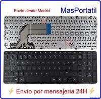 TECLADO ESPAÑOL NUEVO PORTATIL HP PAVILION 15-G011SH  15-G011SM  15-G011SQ TEC17