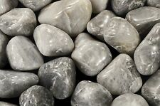 """Cats Eye Agate Tumbled 2"""" 2 Oz Healing Crystals and Stones Root Chakra Reiki Gem"""