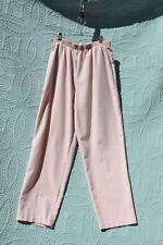 Briggs New York Pink Straight Leg Women's Pants 14T/16 (55% polyester 45% rayon)
