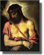 Jesus Christ by Titian Wall Art Picture on Stretched Canvas, Ready to Hang!