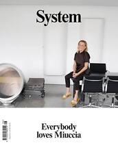 System Magazine No. 8 Miuccia Prada Raf Simons Juergen Teller NEW