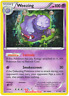Pokemon Weezing  XY163  XY Black Star Promos Holo Rare Near Mint Fast Shipping!