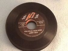 JERRY JAYE : FIVE MILES FROM HOME/ MY GIRL JOSEPHINE 45 RPM
