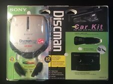 Sony D-E307CK Discman CD Compact Player Electronic Shock Protection AVLS Car Kit