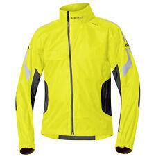 Held WET Tour Motocicleta Chaqueta de lluvia color negro / Neon tam.l