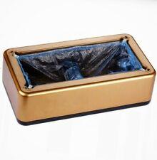 Automatic Shoe Cover Overshoe Dispenser , Gold Color (US SELLER)
