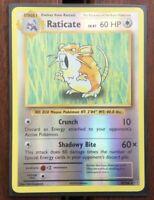 Pokemon Card  RATICATE  REVERSE HOLO RARE  EVOLUTIONS  67/108 ***MINT***