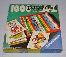 1000 mots de A-Z Ravensburger GAME 1976 (Word Game)
