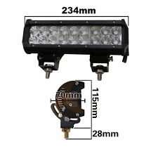 10Inch 12V 54W CREE Led Flood Work Driving Light Bar Off-road 4WD Truck JEEP
