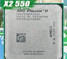 AMD Phenom II X2 550 3.1GHz Socket AM3 Black Edition CPU + Thermal Paste