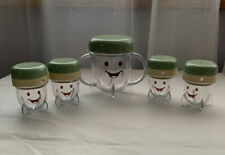 Baby Bullet 5 Piece Storage Containers w/ Lids Cup Dial Date Replacement Euc
