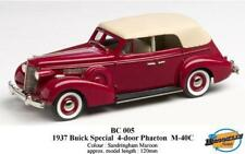 1937 BUICK SPECIAL 5 PASSENGER CONVERTIBLE PHAETON Brooklyn MARRONE 1:43