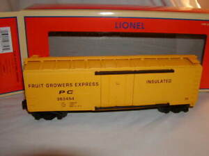 Lionel 2143071 Fruit Growers Express Box Car #363454 Standard O New 2021 MIB