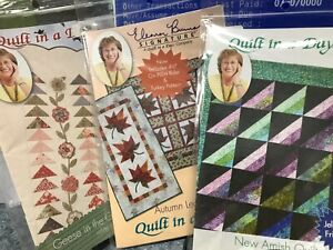 Eleanor Burns Quilt in a Day Patterns Jelly Roll Friendly Easy Quilting Patterns