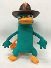 "Phineas and Ferb Gabble Heads AGENT PERRY 7"" Plush Vinyl Toys Figure Jakks NWT"