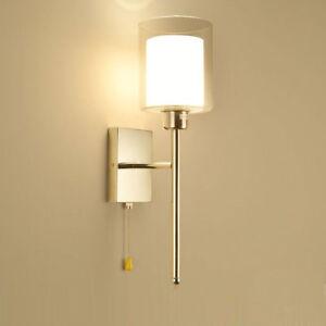 Modern Wall Lights Lamp Sconces Indoor Bedroom Bedside Living Room Porch Light