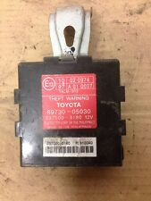 Toyota AVENSIS 1.8 antirrobo de advertencia módulo/ECU 89730-05030