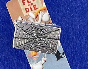 Mens sterling silver HUGE LARGE Spider Web Knuckle Ring Handmade By Sterlingwerx